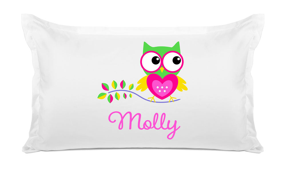 Owl - Personalized Kids Pillowcase Collection