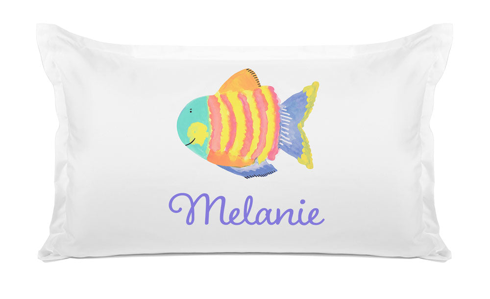Striped Fish - Personalized Kids Pillowcase Collection