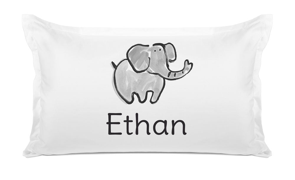 Elephant - Personalized Kids Pillowcase Collection