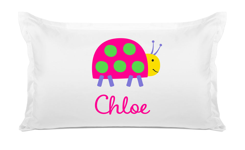 Lady Bug - Personalized Kids Pillowcase Collection