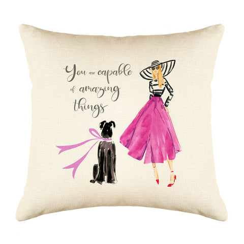 Fabulous Me Throw Pillow Cover
