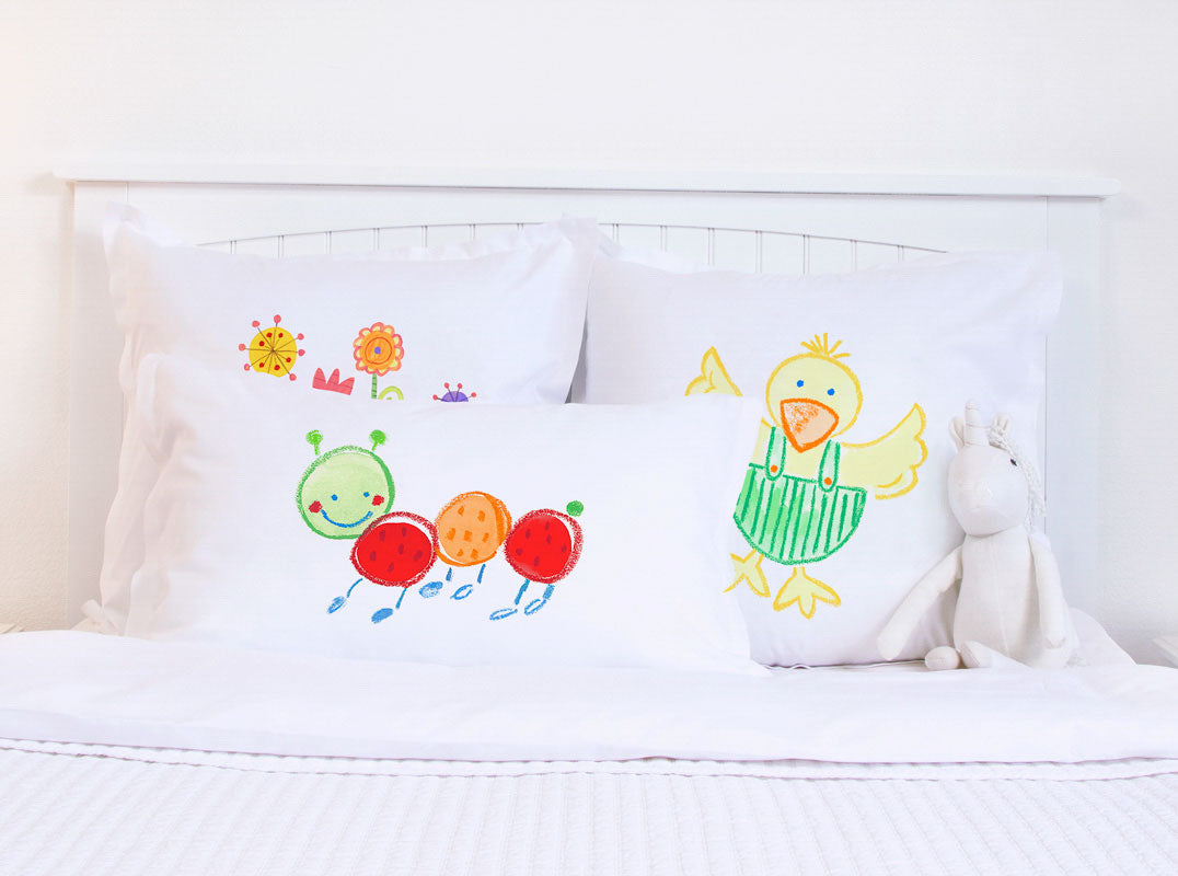 Fernando Caterpillar - Personalized Kids Pillowcase Collection