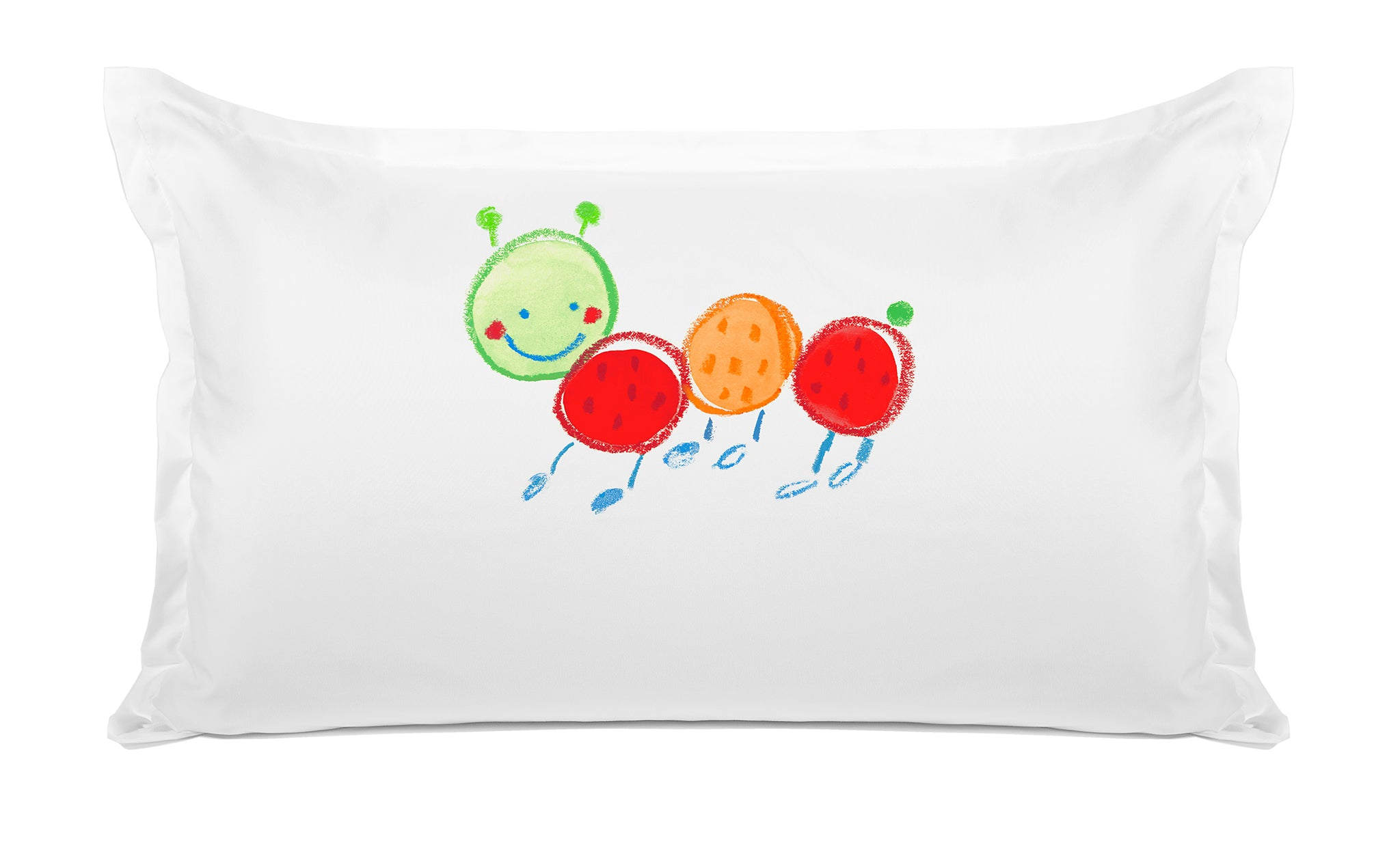 Fernando Caterpillar - Personalized Kids Pillowcase Collection-Di Lewis