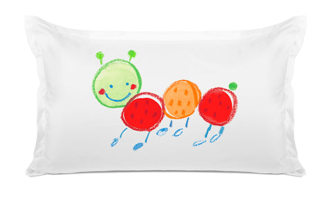 Fernando Caterpillar Kids Pillow, Di Lewis Kids Bedding