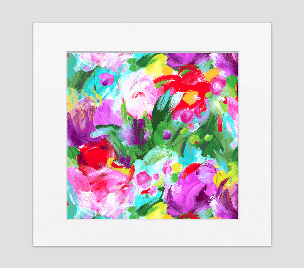 Fleur Art Print - Impressionist Art Wall Decor Collection-Di Lewis