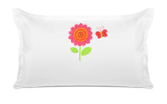Flower Butterfly - Personalized Kids Pillowcase Collection