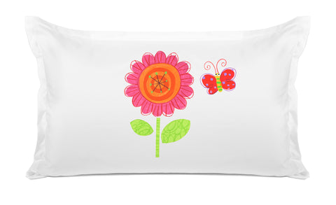 Flower Power Kids Pillow, Di Lewis Kids Bedding