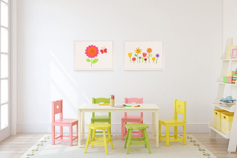 Flower Power Kids Wall Decor Di Lewis Kids Bedroom Decor
