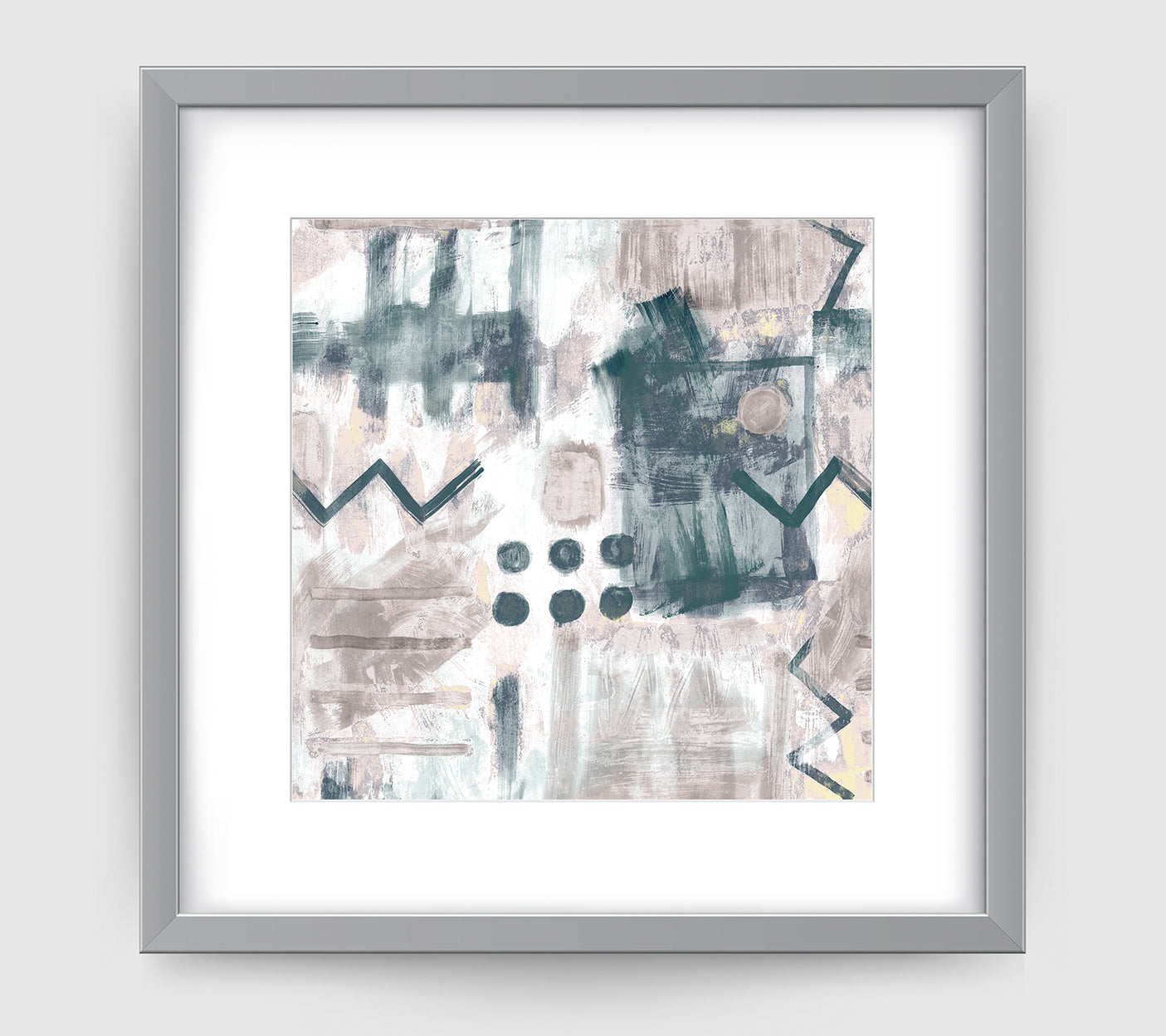 Galleria Abstract Art Print Di Lewis Living Room Wall Decor