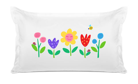 Garden Party Kids Pillow, Di Lewis Kids Bedding