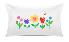 Garden Party - Personalized Kids Pillowcase Collection-Di Lewis