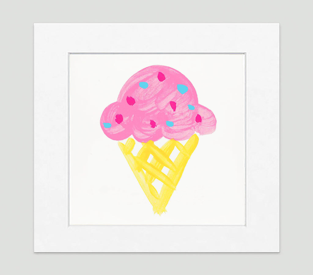Gelato Art Print - Kids Wall Art Collection-Di Lewis