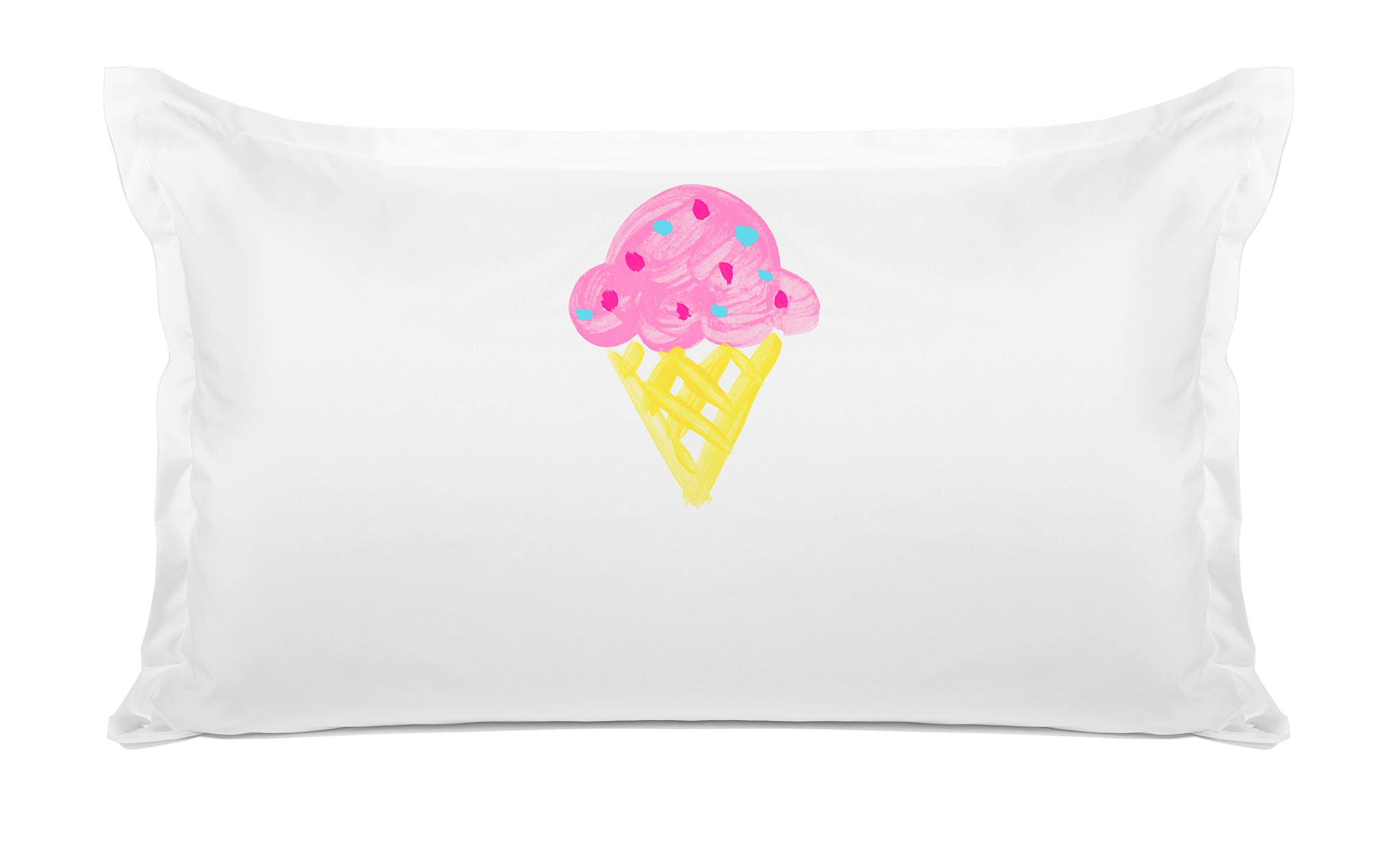Gelato Personalized Kids Pillow case Di Lewis Kids Bedding