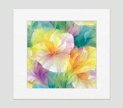 Georgia Impressionist Art Print Di Lewis Living Room Wall Decor