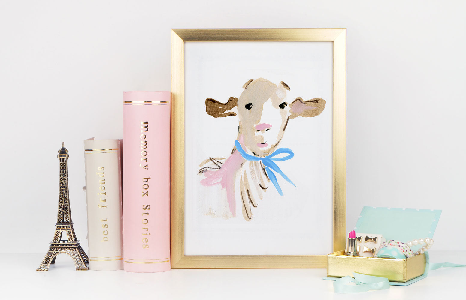 Billy Goat Art Print