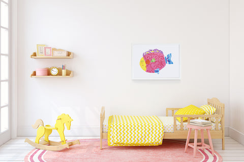 Happy Fish Kids Wall Decor Di Lewis Kids Bedroom Decor
