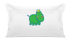 Harry Hippo Personalized Kids Pillow case Di Lewis Kids Bedding