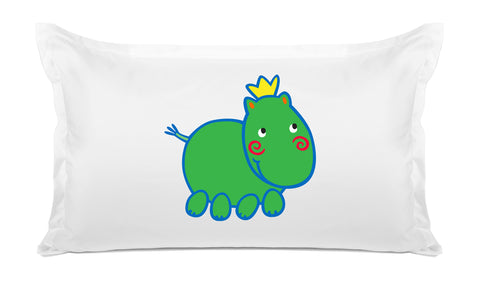 Harry Hippo Kids Pillow, Di Lewis Kids Bedding