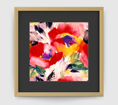Helena Multi Art Print - Impressionist Art Wall Decor Collection-Di Lewis