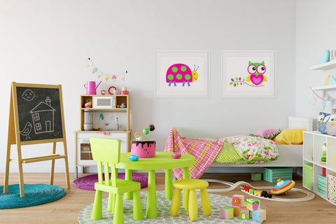 Hoot Hoot Kids Wall Decor Di Lewis Kids Bedroom Decor