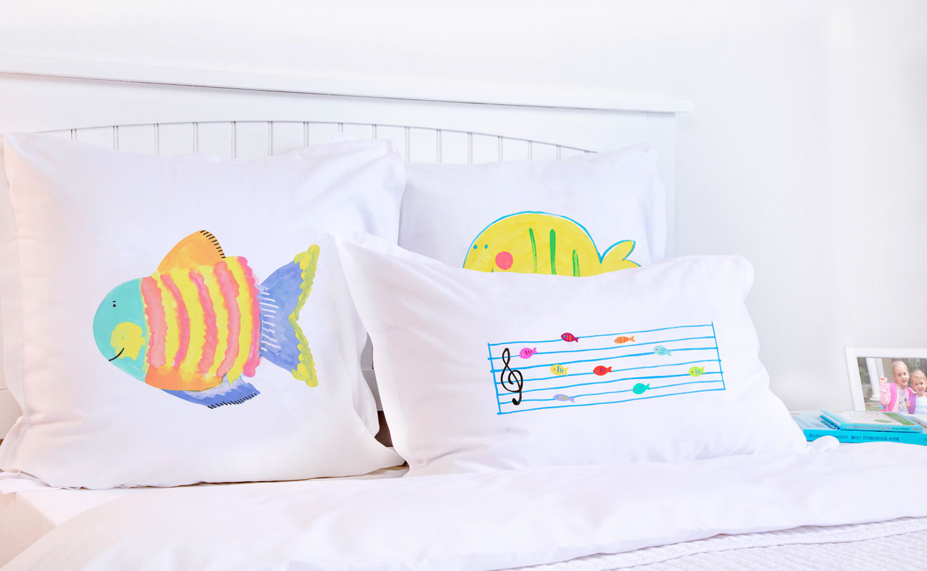 Hubble Bubble - Personalized Kids Pillowcase Collection