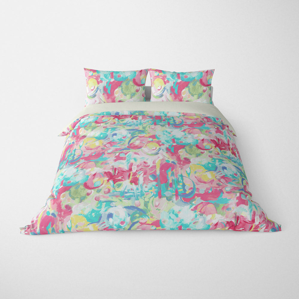 ABSTRACT DUVET COVERS & BEDDING SETS - IMAGINATION CANDY - GEOMETRIC DESIGN - HYPOALLERGENIC