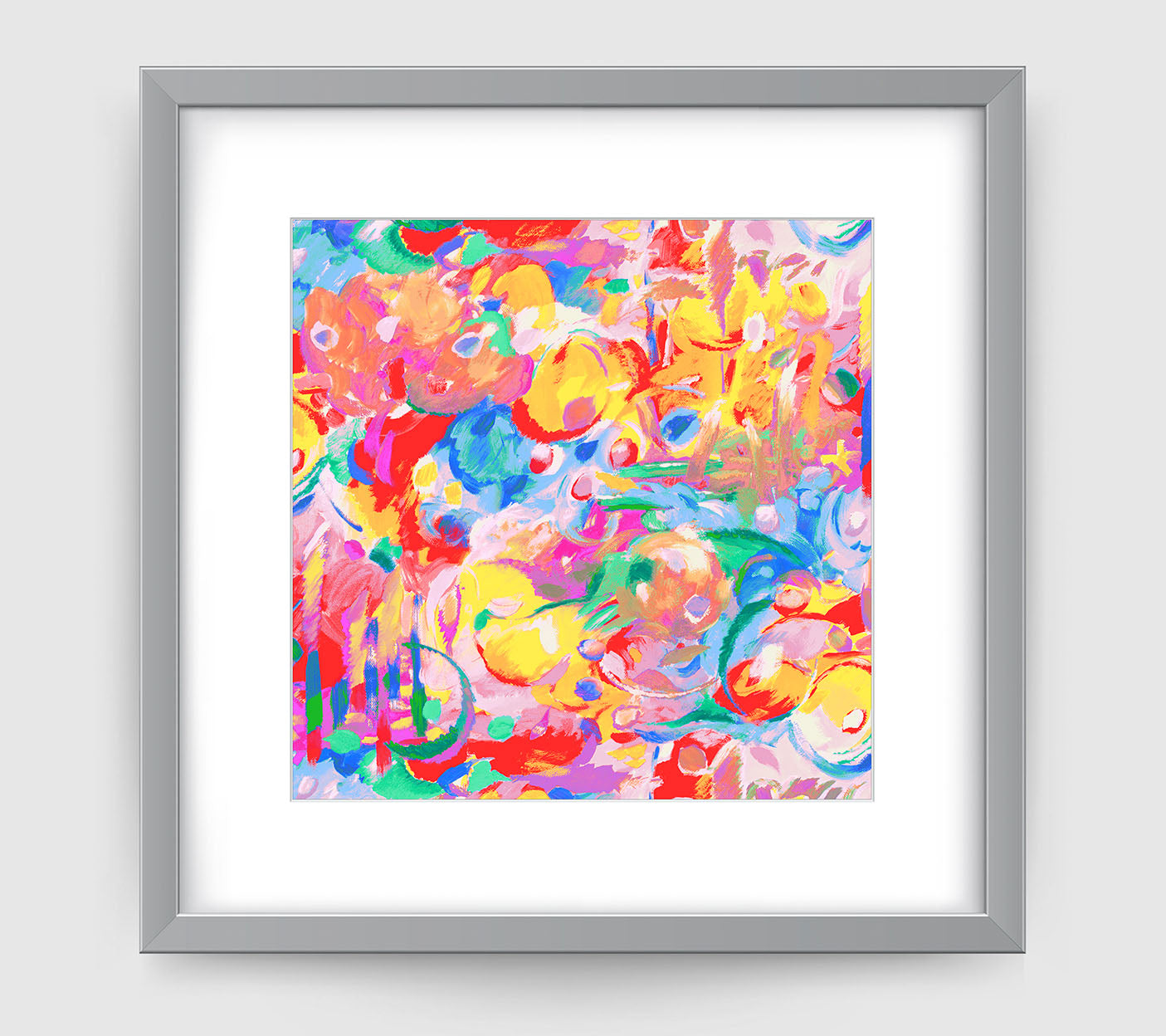 Imagination Art Print - Abstract Art Wall Decor Collection-Di Lewis