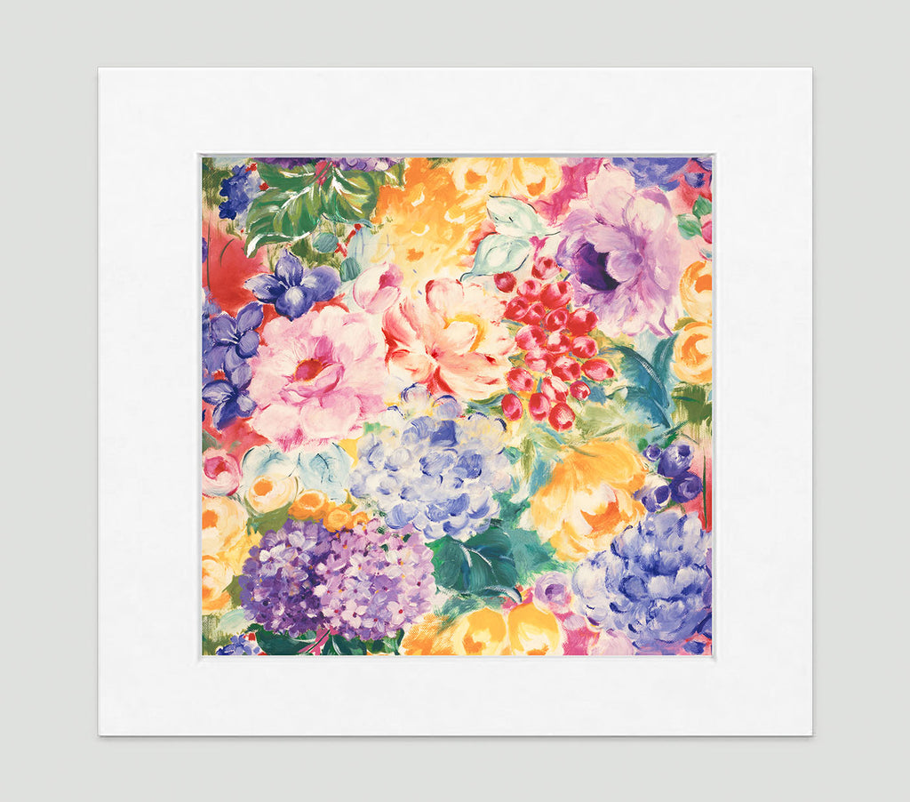 In Full Bloom Art Print - Impressionist Art Wall Decor Collection-Di Lewis