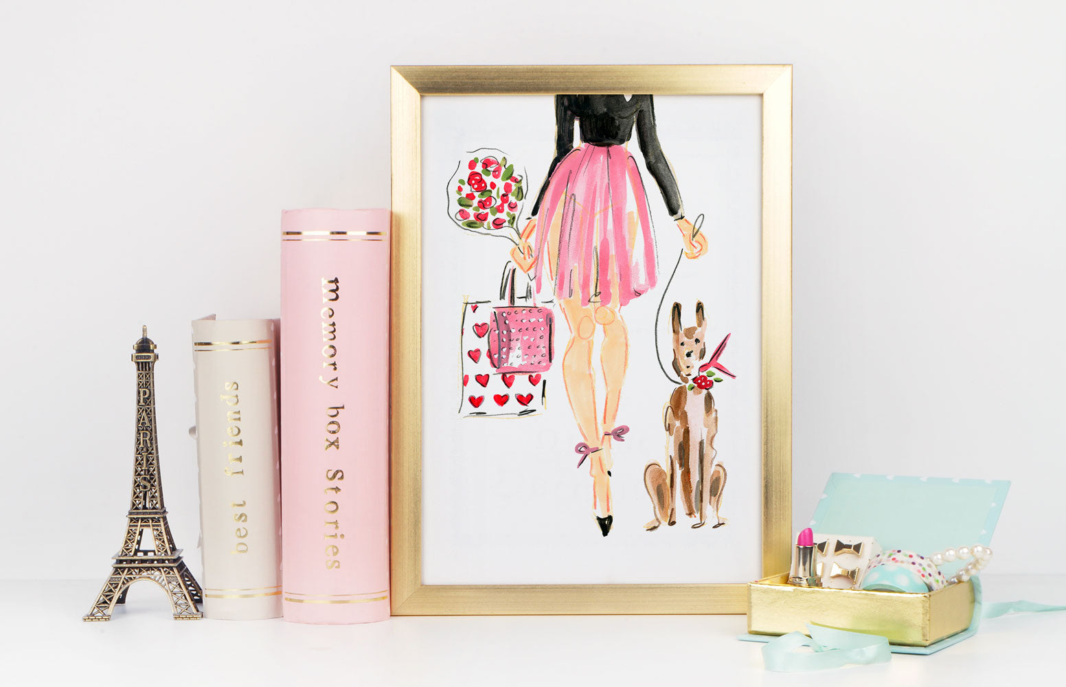 Irresistible Art Print - Fashion Illustration Wall Art Collection-Di Lewis