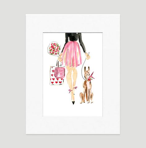 Irresistable Art Print - Fashion Illustration Wall Art Collection