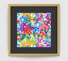 Jardin Impressionist Art Print Di Lewis Living Room Wall Decor