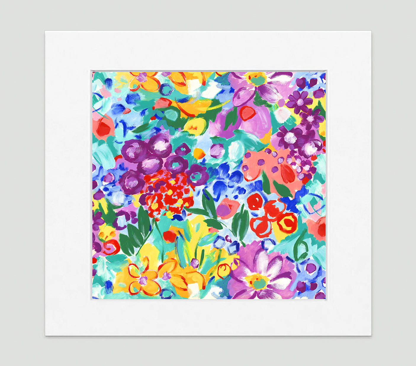 Jardin Art Print - Impressionist Art Wall Decor Collection-Di Lewis