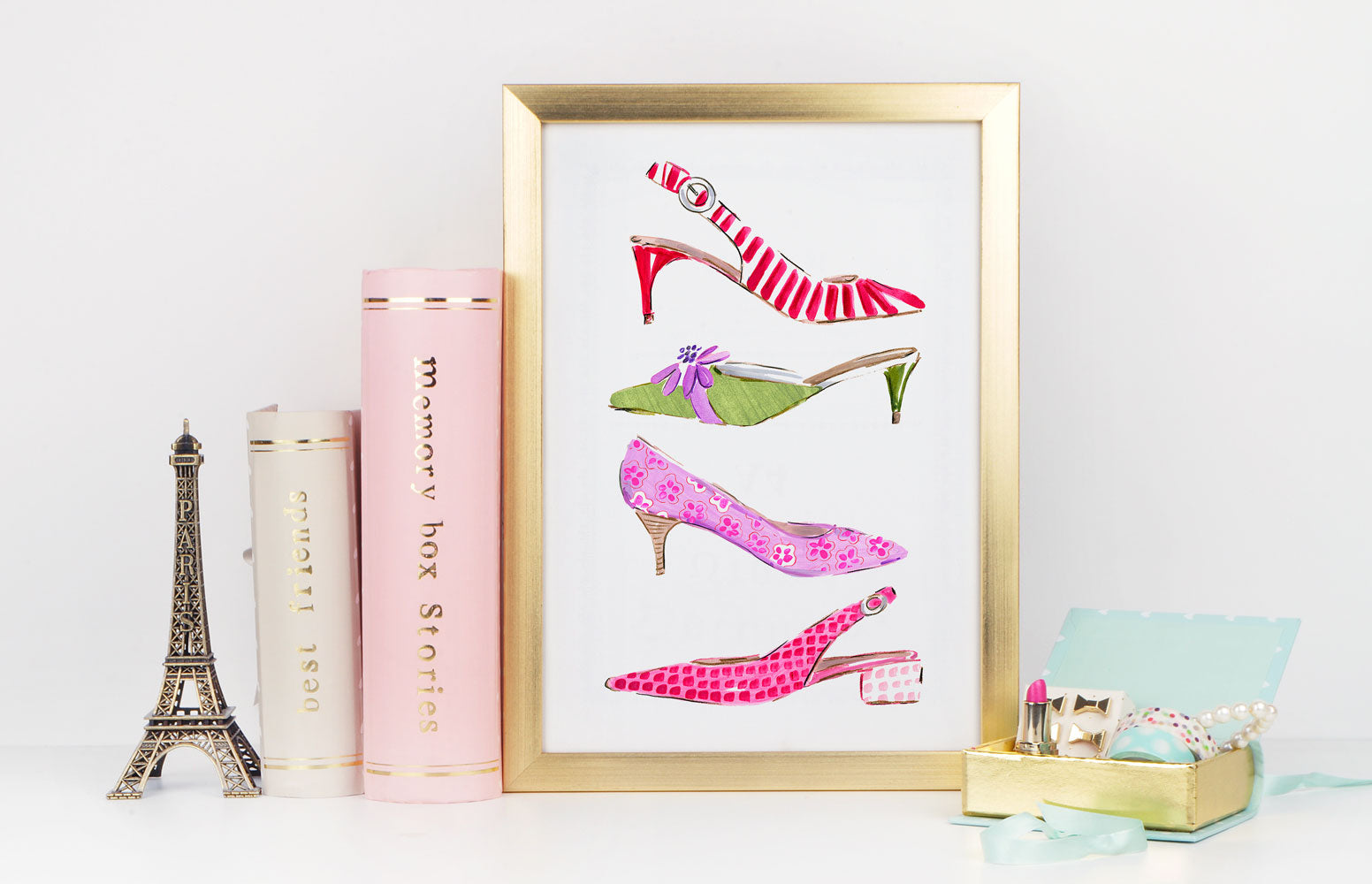 Just My Style - Fashion Illustration Wall Art Collection-Di Lewis