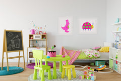 Kanga Art Print - Kids Wall Art Collection-Di Lewis