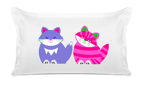 Kit & Kat Kids Pillow, Di Lewis Kids Bedding
