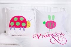 Lady Bug - Personalized Kids Pillowcase Collection-Di Lewis