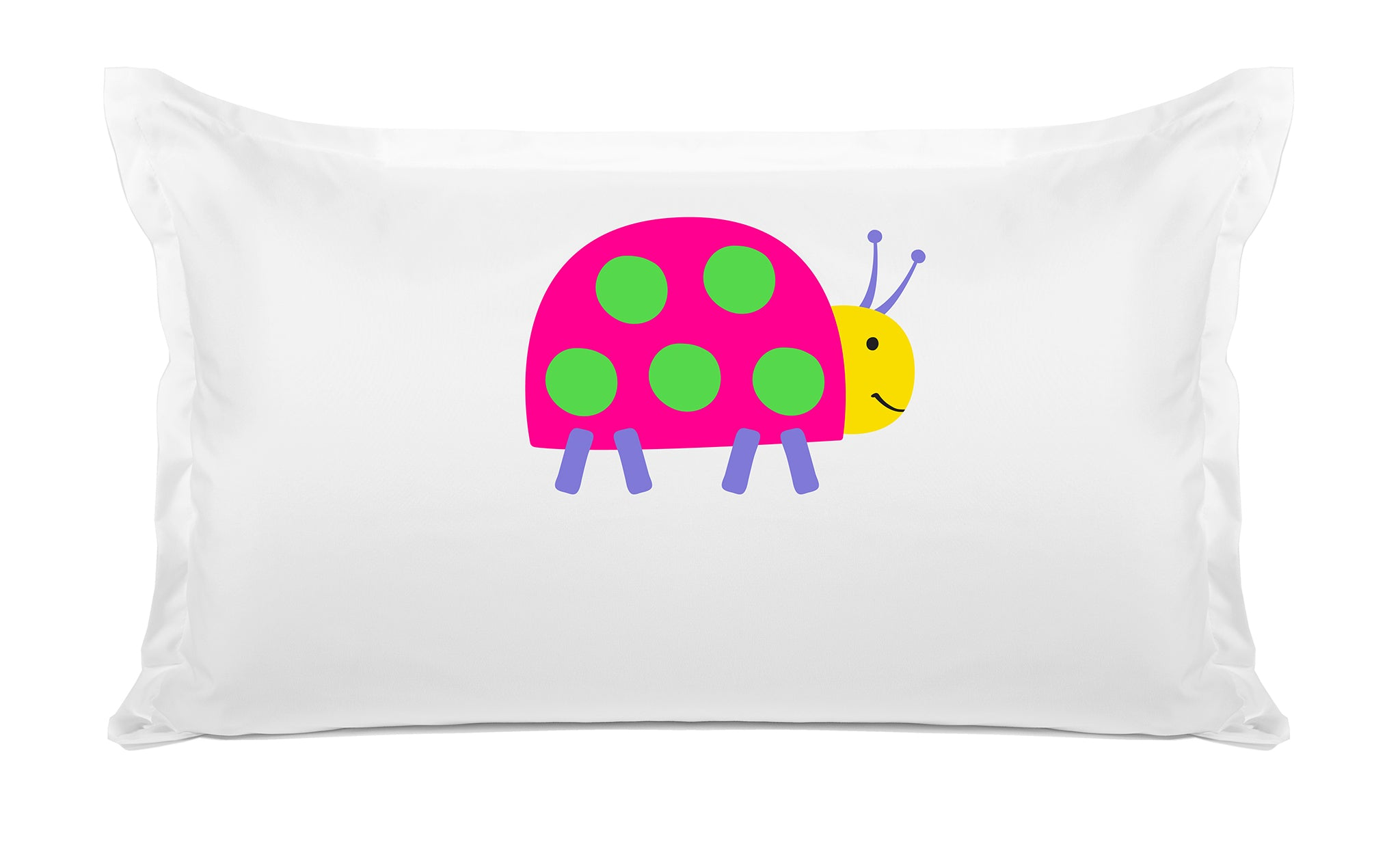 Ladybug Personalized Kids Pillow case Di Lewis Kids Bedding