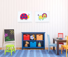 Ladybug Red Kids Wall Decor Di Lewis Kids Bedroom Decor