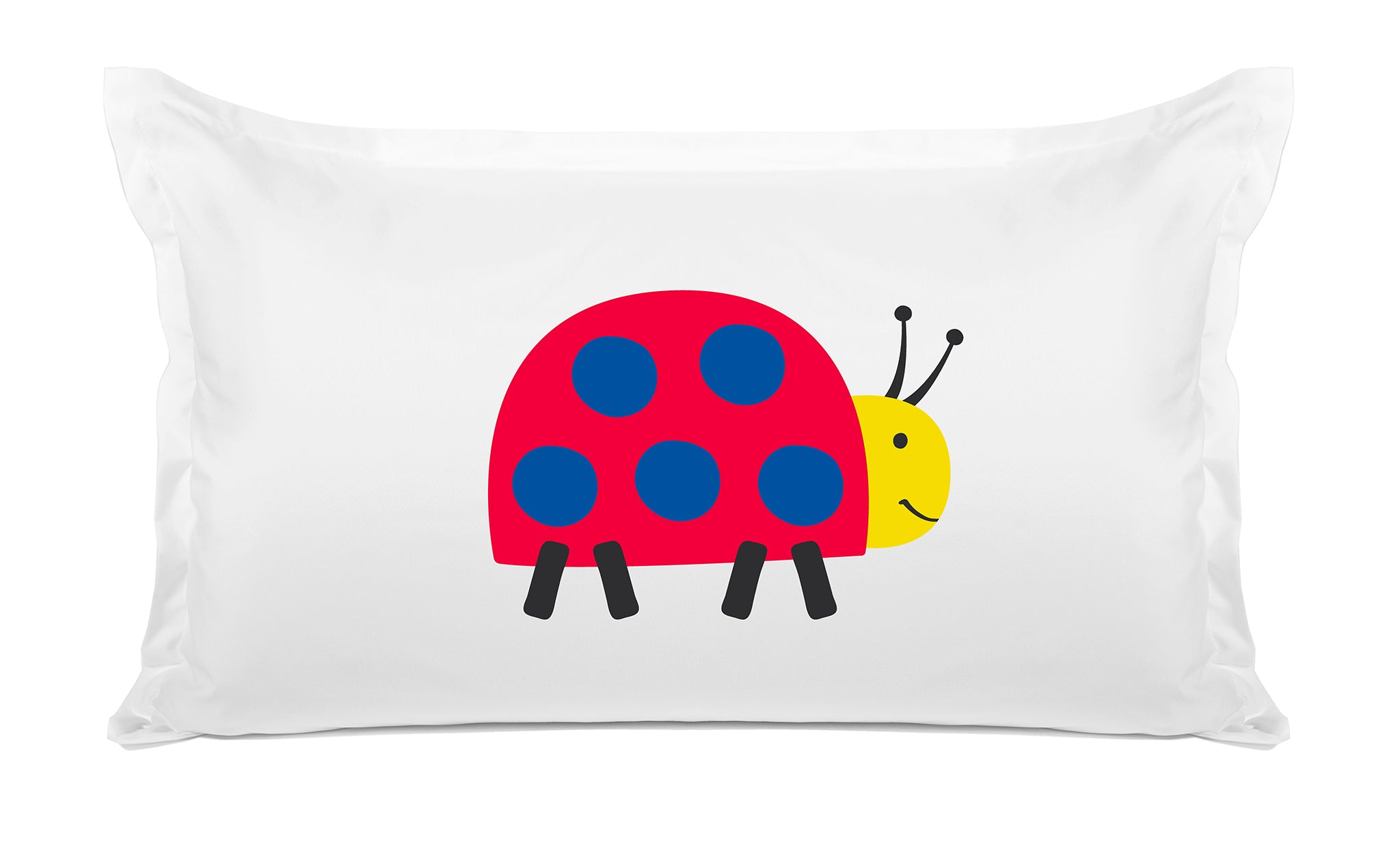 Ladybug Kids Pillow, Di Lewis Kids Bedding