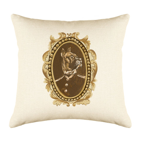 Lord Dane Throw Pillow Cover