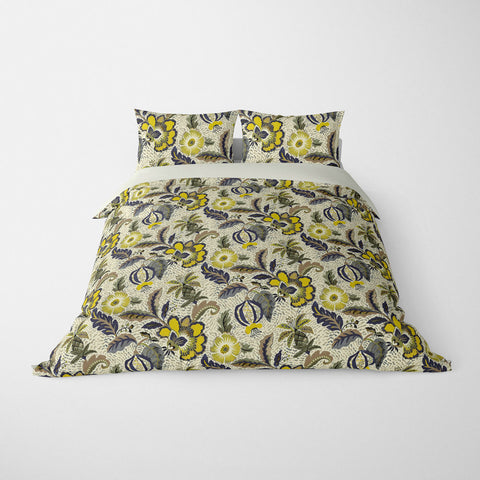 DECORATIVE DUVET COVERS & BEDDING SETS LUAU DUSK - FLORAL DESIGN - HYPOALLERGENIC