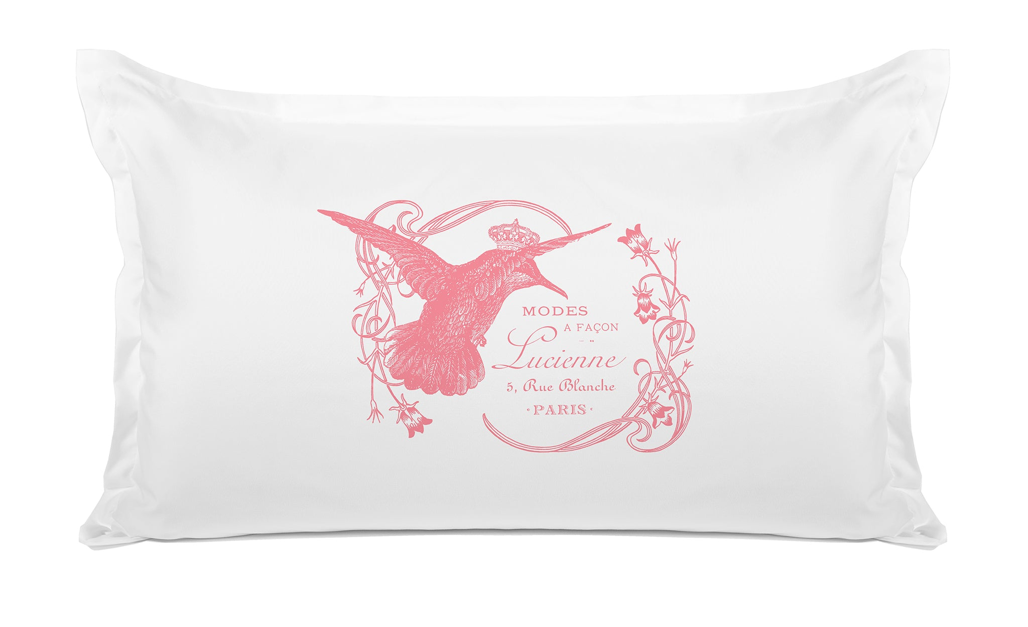 Lucienne Hummingbird - Decorative Pillowcase Collection-Di Lewis
