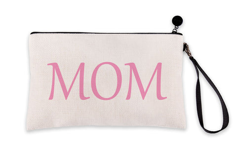 Mom Pink Signage Makeup Bag – Mother's Day Collection