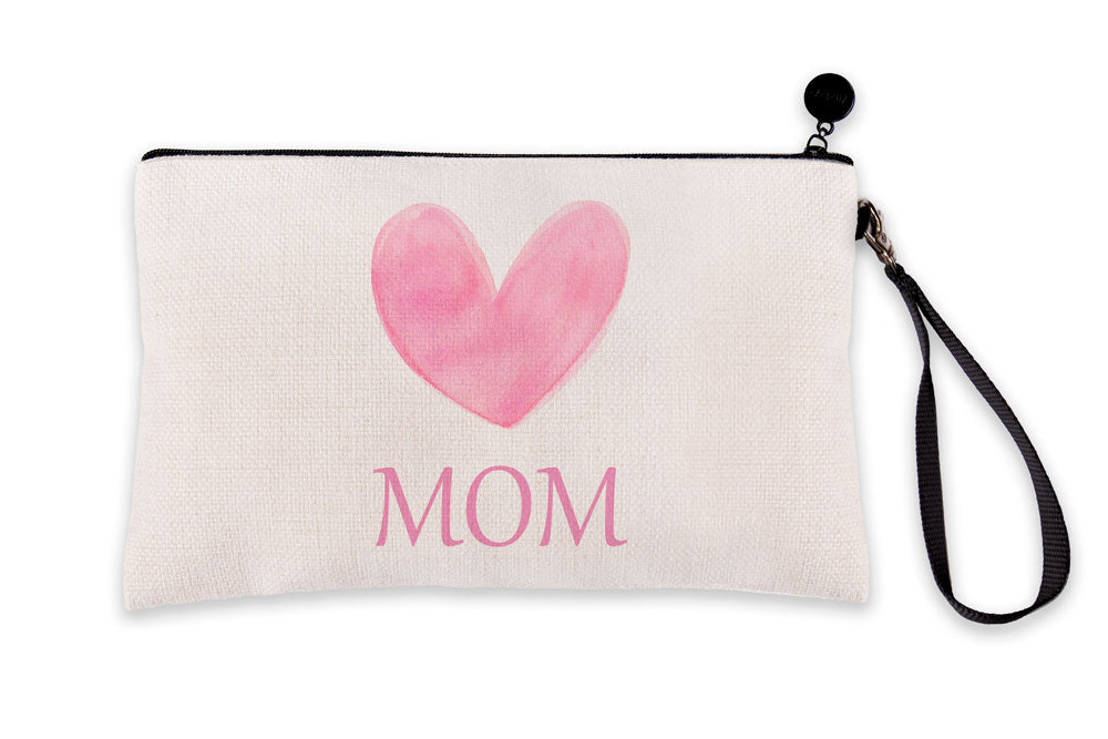 Big Pink Heart – Mom Makeup Bag – Mother's Day Collection