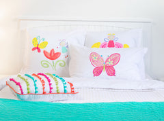 Madam Butterfly - Personalized Kids Pillowcase Collection