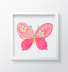 Madam Butterfly Kids Wall Decor Di Lewis Kids Bedroom Decor