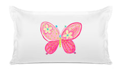 Madam Butterfly Kids Pillow, Di Lewis Kids Bedding