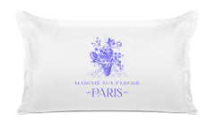 MARCHÉ AUX FLEURS Vintage Pillow case Di Lewis Bedroom Decor