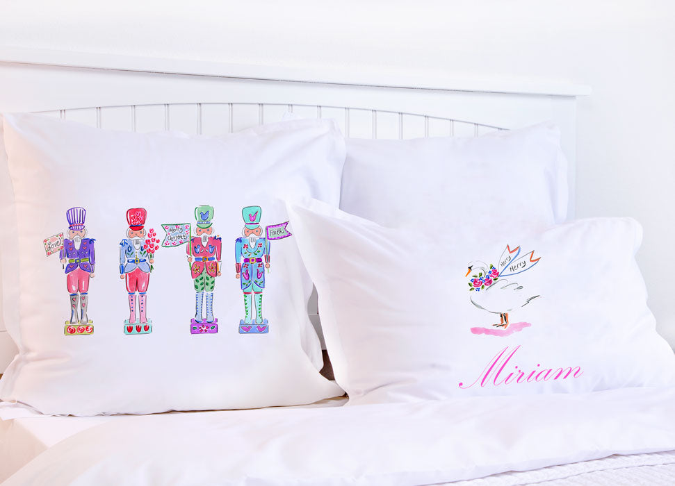 Christmas Nutcracker - Kids Personalized Pillowcase Collection