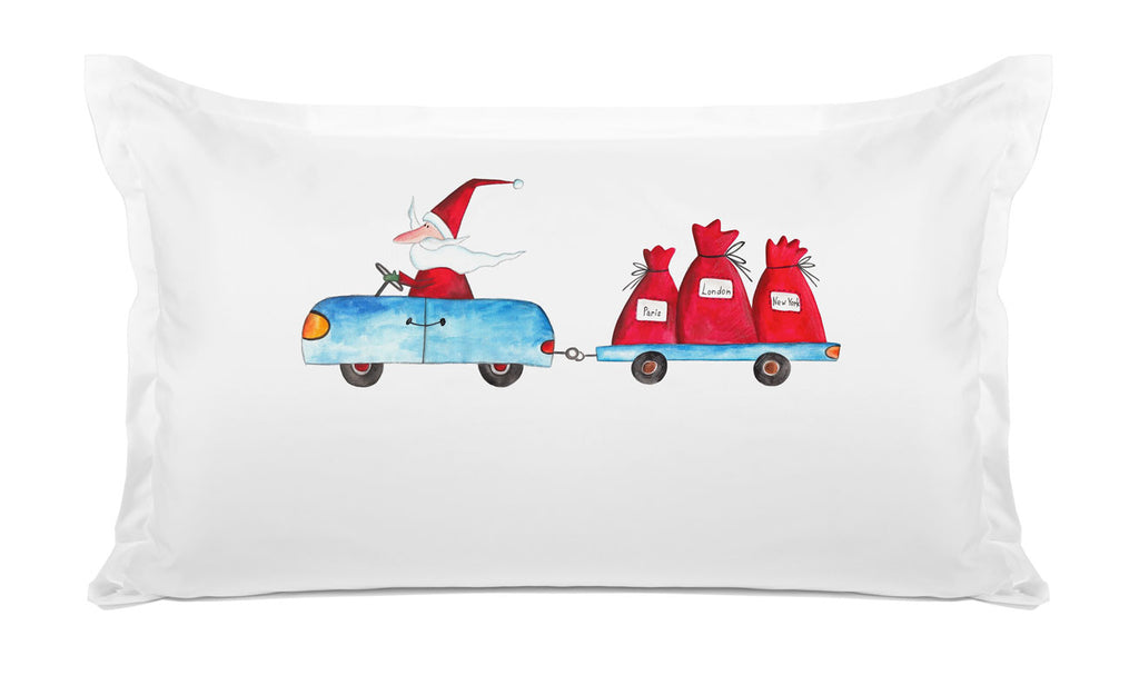 Christmas Santa Express - Kids Personalized Pillowcase Collection